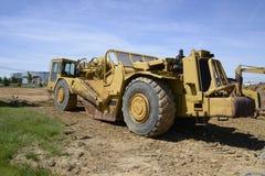 Construction machine stock images