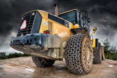 Construction machine Royalty Free Stock Photography