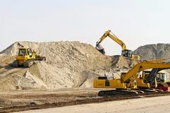 Construction machinery Stock Photos