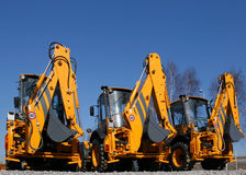 Free Construction Machinery Royalty Free Stock Photos - 4563628