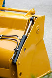 Construction machinery. Detailed view of heavy vehicle, of the building dozer or other construction machinery Stock Images
