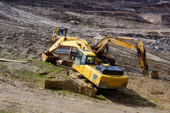 Construction machinery. royalty free stock photos