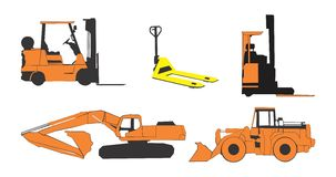 Construction machinery Royalty Free Stock Image