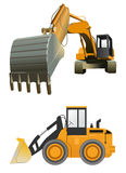 Construction machines Stock Photos