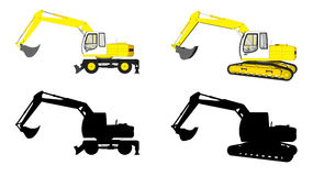 Construction Machines Royalty Free Stock Image
