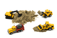 Construction machines Royalty Free Stock Photos