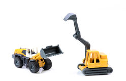 Construction machines Stock Image