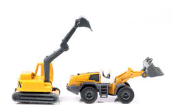Construction machines Royalty Free Stock Images