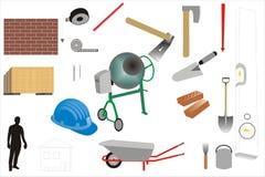 Construction & maintenance Stock Photo