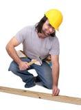 Construction man Stock Photo