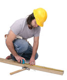 Construction man Stock Photography