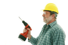 Construction  man Royalty Free Stock Image