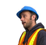 Construction man Stock Photo