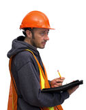 Construction man Royalty Free Stock Image
