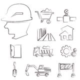 Construction management Stock Images