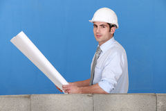 A construction manager Royalty Free Stock Images