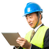 Construction manager Royalty Free Stock Images