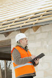 Construction manager Royalty Free Stock Photo