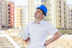 Construction manager Stock Images