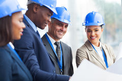 Construction manager working Stock Photos