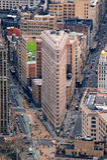 Construction Manhattan New York City de Flatiron Photos stock