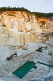 Construction marble quarry Royalty Free Stock Photo