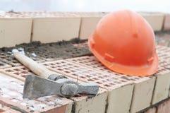 Construction mason equipment Royalty Free Stock Photos