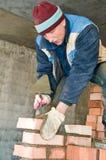 Construction mason worker Royalty Free Stock Photography