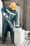 Construction mason worker Royalty Free Stock Photo