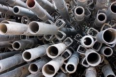Construction material - Long Pipes 2 Stock Photos