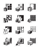 Construction materials and building details Royalty Free Stock Photography