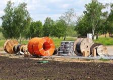 Construction materials Stock Photo