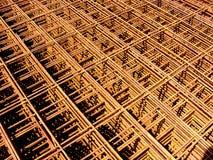 Construction Materials Cement Conduit Building Material. Steel Conduit Construction Material used to reinforce Concrete Royalty Free Stock Photo