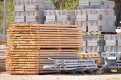 Construction materials Stock Photos