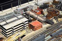Construction materials Stock Images