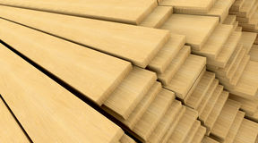 Construction materials wood Royalty Free Stock Photos