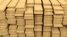 Construction materials wood Stock Image