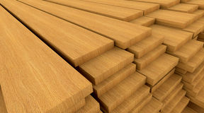 Construction materials wood Stock Images