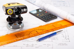 Construction Measurement Royalty Free Stock Photo