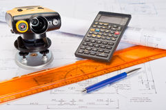 Construction Measurement Stock Photos