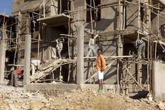 Construction in Mek'ele, Ethiopia Stock Photography