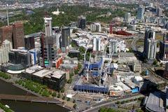 Construction in Melbourne Australia stock image