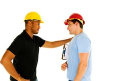 Construction men Stock Photos