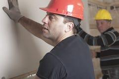 A construction  men working Stock Photos