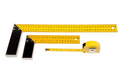 Construction meters Royalty Free Stock Images