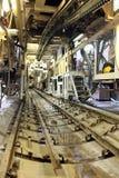 Construction of metro Stock Photo