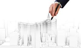 Construction model Stock Photography