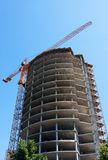 Construction of modern building Royalty Free Stock Image