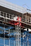 Construction of modern buildings Stock Images