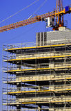 Construction of modern commercial architecture Royalty Free Stock Image